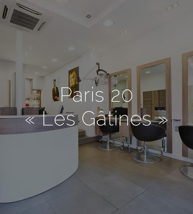 Paris 20ème « Les Gâtines »